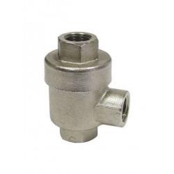 Soupape pompe à savon